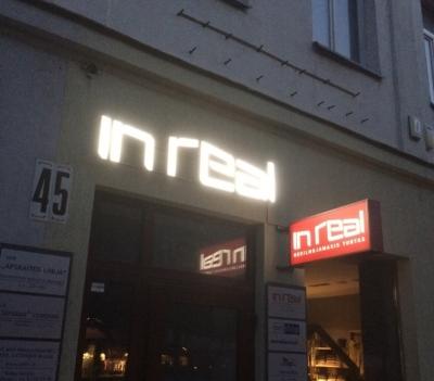 Šviečiančios lauko reklamos